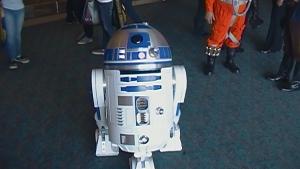 R2-D2.  The true hero behind Star Wars.