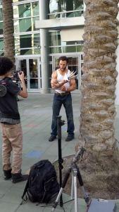 Wolverine showed up.